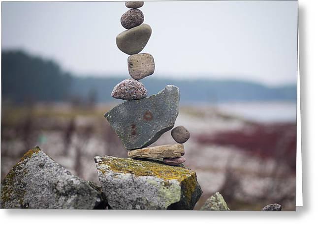 Balancing Art #30 Greeting Card