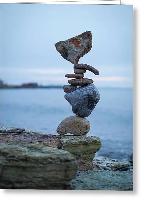 Balancing Art #31 Greeting Card
