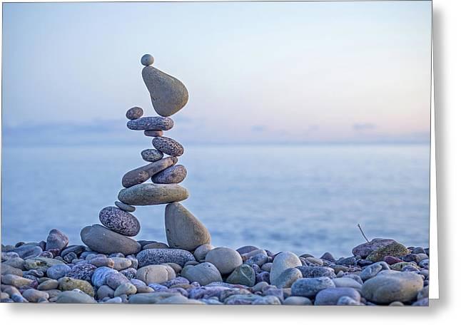 Balancing Art #33 Greeting Card