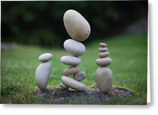 Balancing Art #35 Greeting Card