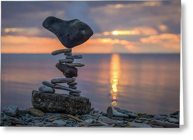 Balancing Art #36 Greeting Card