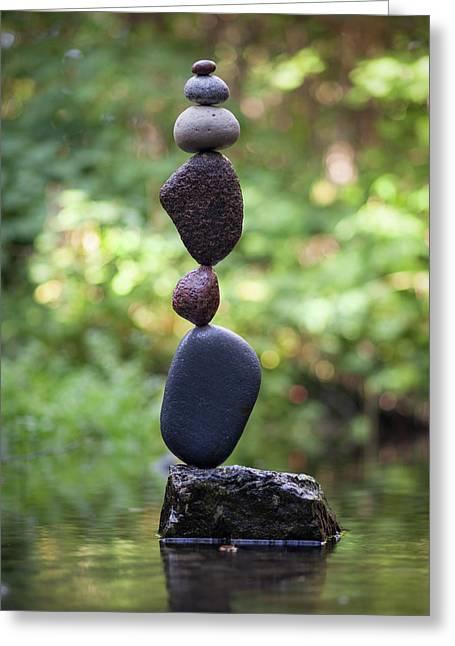 Balancing Art #37 Greeting Card