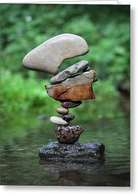 Balancing Art #40 Greeting Card