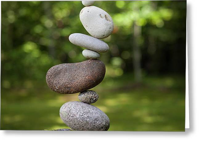 Balancing Art #41 Greeting Card