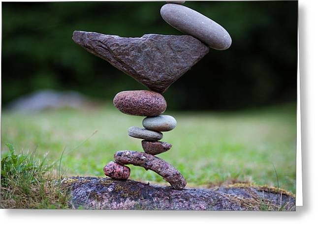 Balancing Art #42 Greeting Card