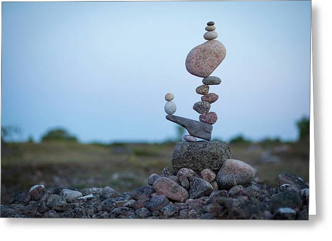 Balancing Art #43 Greeting Card