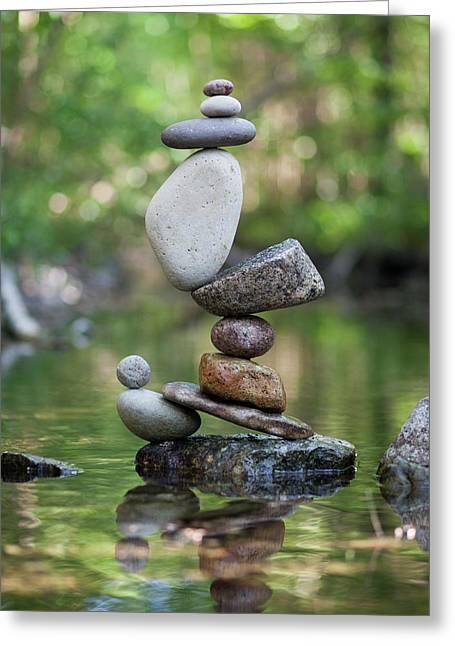 Balancing Art #47 Greeting Card