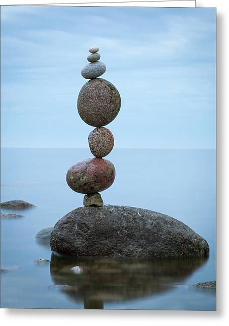 Balancing Art #48 Greeting Card