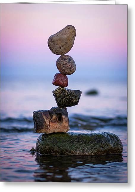 Balancing Art #51 Greeting Card