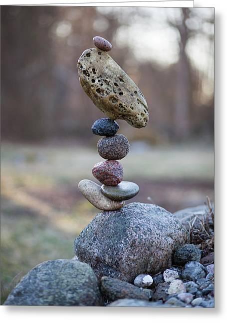 Balancing Art #53 Greeting Card