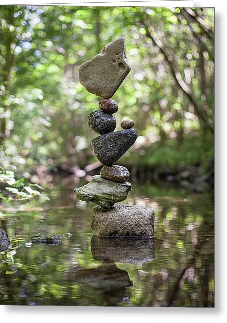 Balancing Art #61 Greeting Card