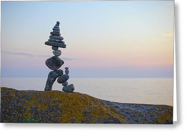 Balancing Art #64 Greeting Card