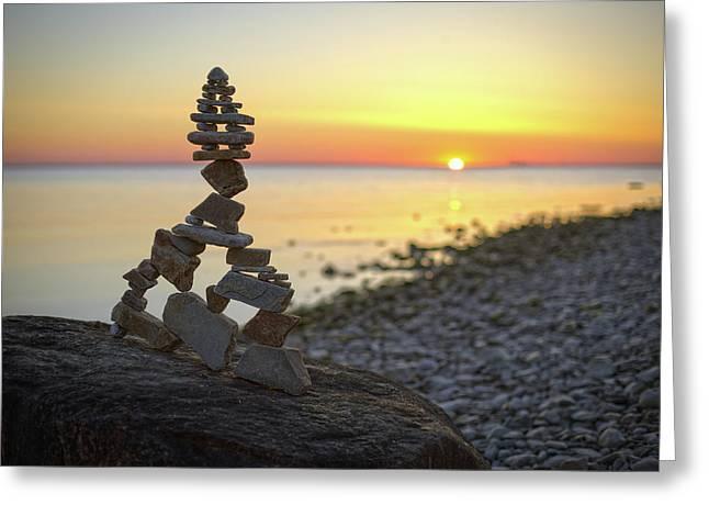 Balancing Art #66 Greeting Card