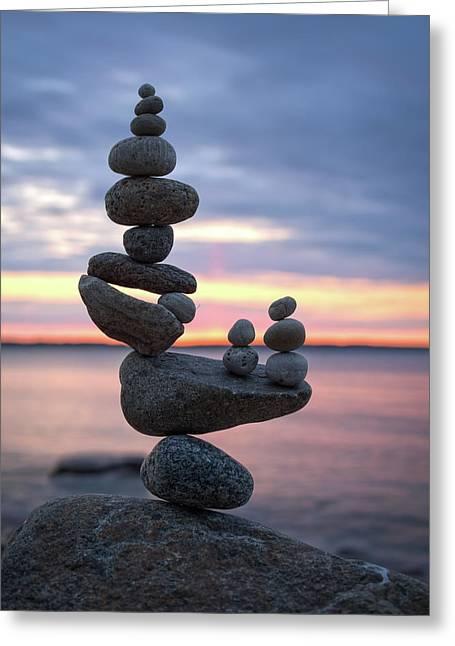 Balancing Art #67 Greeting Card