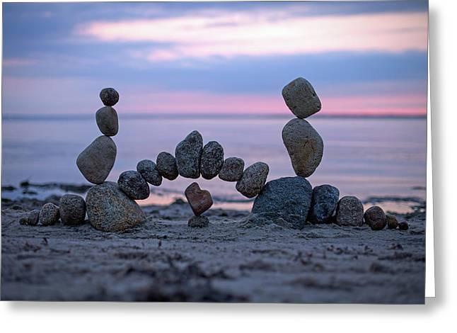 Balancing Art #9 Greeting Card