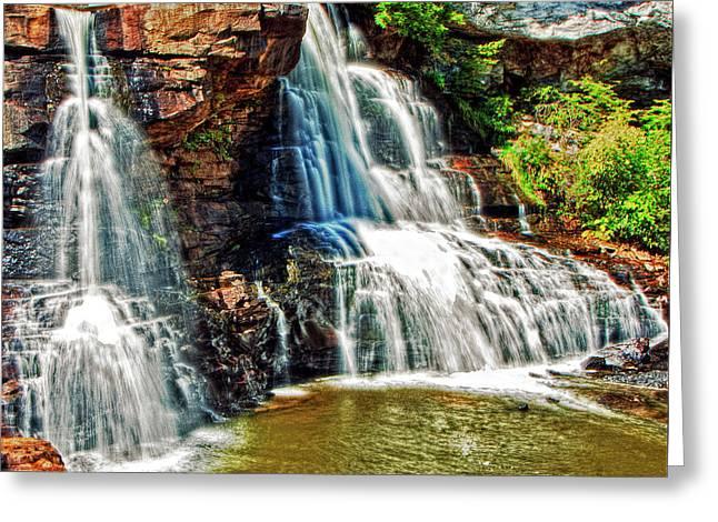 Balckwater Falls - Closeup Greeting Card