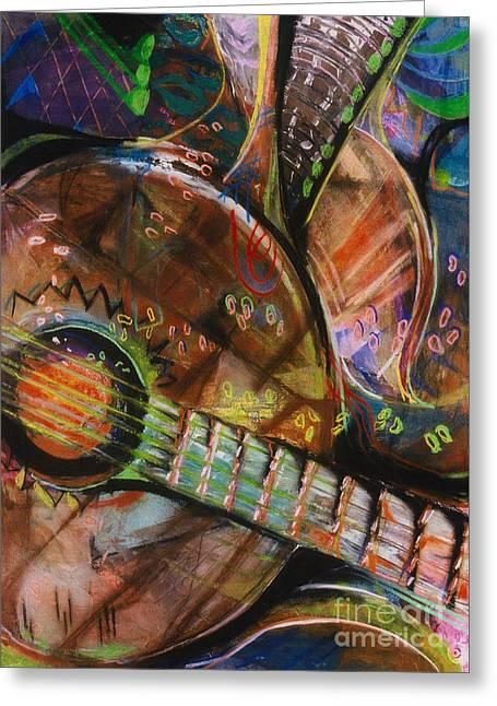 Banjos Jamming Greeting Card