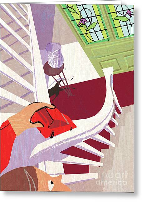 Bannister Greeting Card