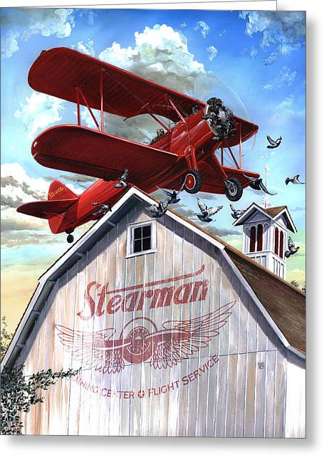 Barn Stormer - Customizeable Greeting Card