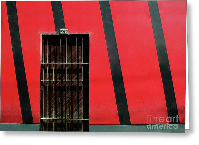 Greeting Card featuring the photograph Bars And Stripes by Rick Locke