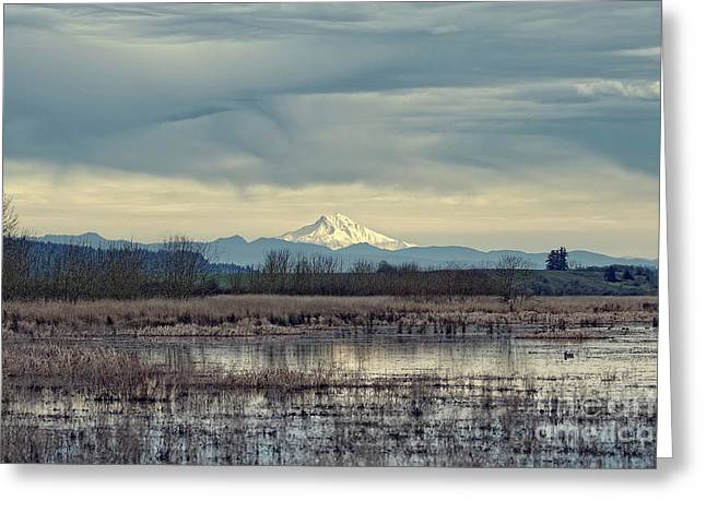 Greeting Card featuring the photograph Baskett Slough National Wildlife Refuge by Craig Leaper