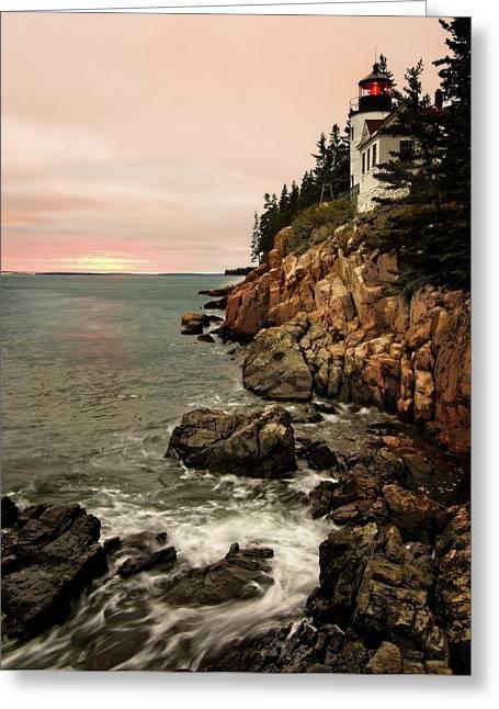 Bass Harbor Head Lighthouse Greeting Card
