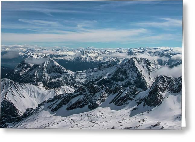 Bavarian Alps Greeting Card