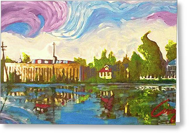 Bayou Saint John One Greeting Card