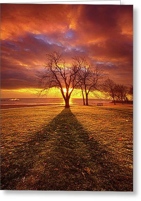 Greeting Card featuring the photograph Be Still In The Moment by Phil Koch