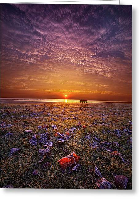 Greeting Card featuring the photograph Be The Light by Phil Koch