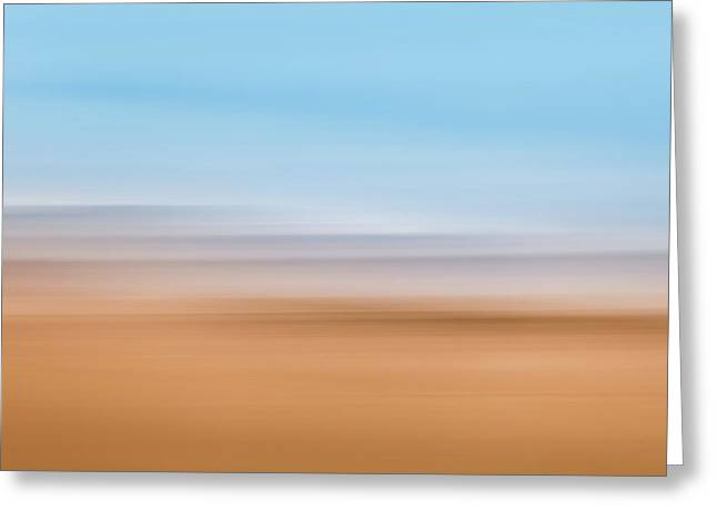 Beach Abstract Greeting Card
