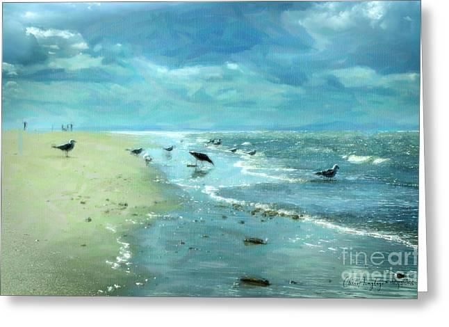 Beach Blues IIi Greeting Card
