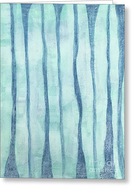 Beach Collection Beach Water Lines 2 Greeting Card