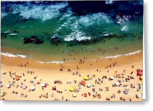 Beach Smile Greeting Card