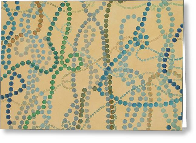 Bead And Pearls - Trendy Greeting Card