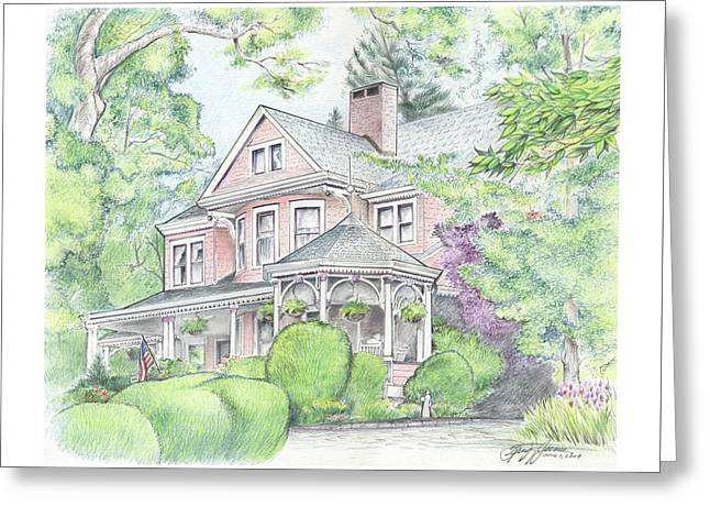 Beaufort House Greeting Card