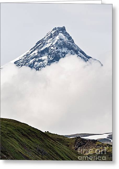 Beautiful Mountain Landscape Of Greeting Card by Alexander Piragis