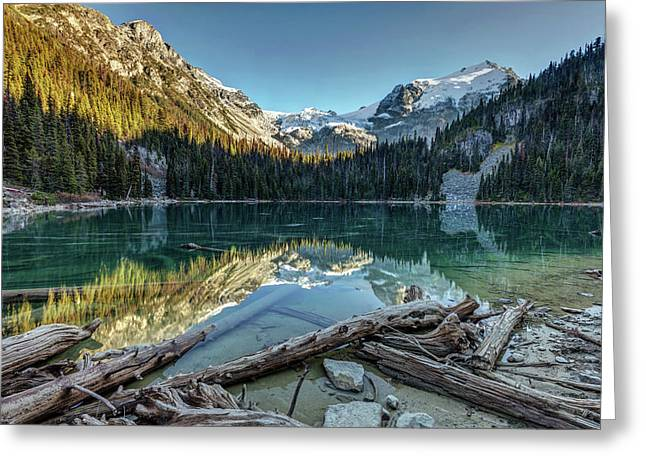 Greeting Card featuring the photograph Beautiful Nature Of Joffre Lakes by Pierre Leclerc Photography