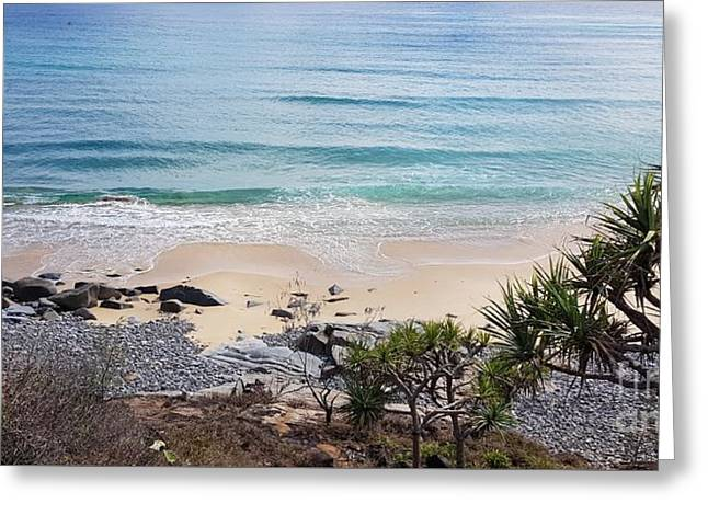Beautiful Noosa Beach  Greeting Card