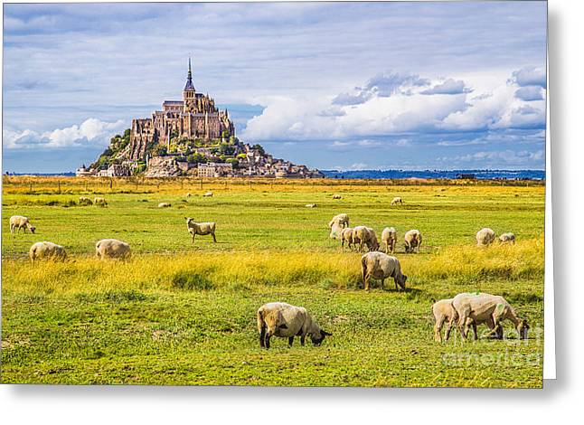 Beautiful View Of Famous Historic Le Greeting Card by Canadastock
