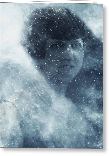 Beauty In The Snow Greeting Card