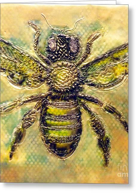 Bee Greeting Card