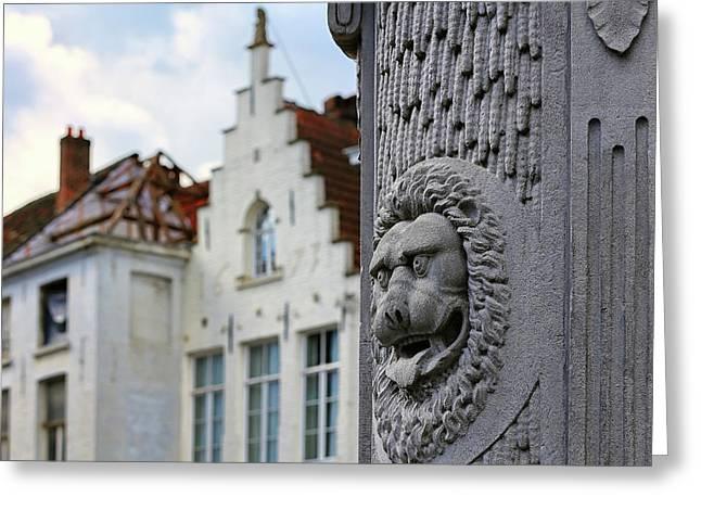 Belgian Coat Of Arms Greeting Card