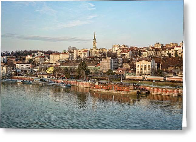 Belgrade Cityscape Greeting Card