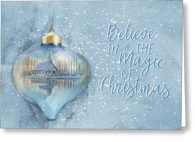 Greeting Card featuring the photograph Believe In The Magic - Hope Valley Art by Jordan Blackstone