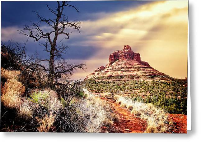 Bell Rock Greeting Card by Scott Kemper