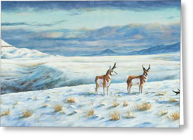 Belt Butte Winter Greeting Card