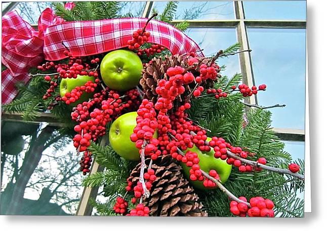 Berry Christmas Greeting Card