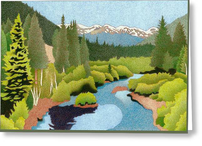 Berthoud Pass Greeting Card