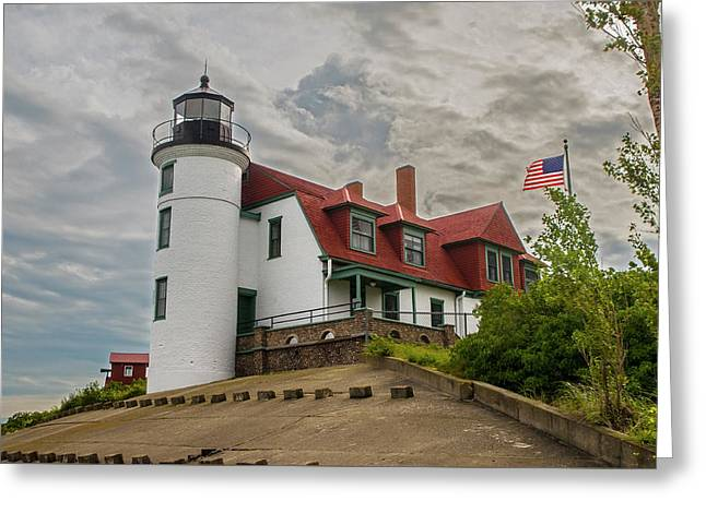 Bestie Point Lighthouse  Greeting Card